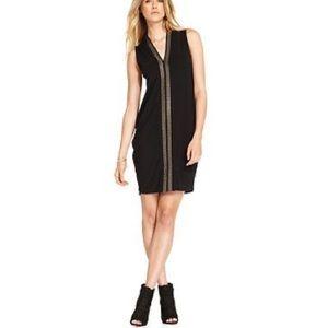 RACHEL Rachel Roy Black Sleeveless Studded Dress M